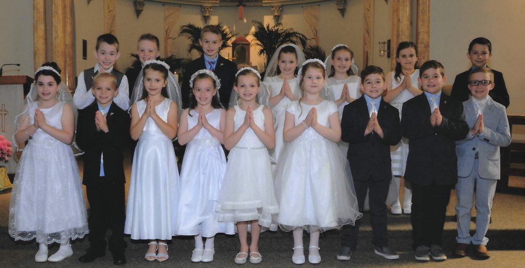 Parish First Holy Communion Photos - Proclaim